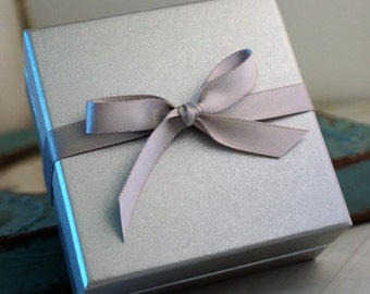 Gift Box Upgrade for jewelry bought from Intentionally Me / Bigger Gift Box / Packaging Upgrade / Jewelry Wrapping