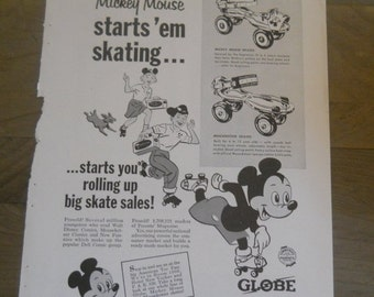 1950s Mickey Mouse Etsy