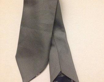 handmade Grey Denim Skinny Tie, skinny tie, skinny tie for men, gifts for him, gifts for men, wedding ties, groomsman ties, ties for wedding