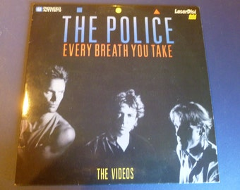 The Police Every Breath You Take The Videos LaserDisc 1986