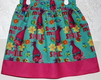 Troll Skirt.  Get your daughter a Troll Skirt to go with her Troll Doll     Size 2 to 8