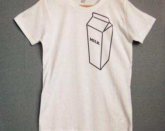 SALE! Milk Carton Printed t-shirt