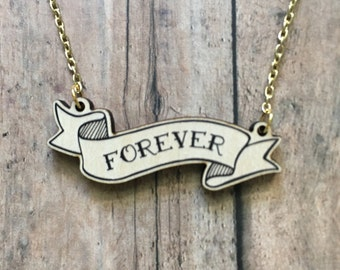 Forever necklace