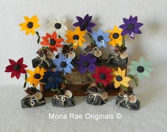 """Floral Arrangement ~  6"""" & 9""""  Flowers, Colored Arrangements or You Pick the Colors , Mothers Day, Birthday, Senior, Housewarming Gift"""