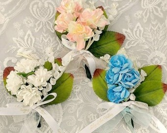 Lily of the Valley corsage