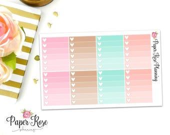 Flower Child Ombre Checklist Full Box Planner Stickers