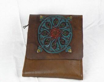Celtic Flower Messenger Bag