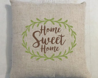 Home Sweet Home Pillow Gift for New House