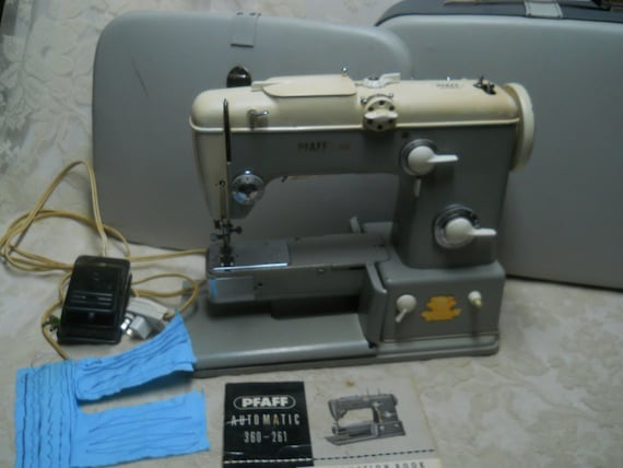 Reserved For Nixie Vintage Pfaff 360 Sewing