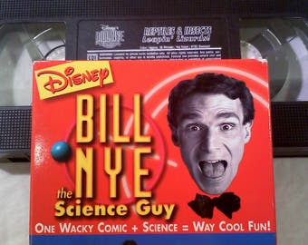 Bill Nye The Science Guy VHS Video