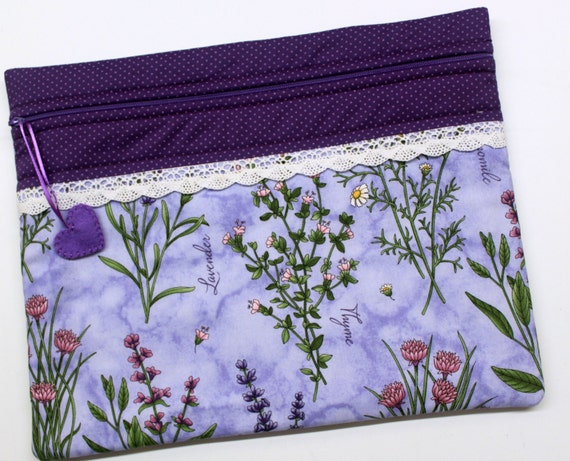 Thyme With Friends Cross Stitch Embroidery Project Bag
