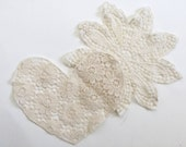 Crochet Lace Patches, Crafting Supply, Sewing Supply, Crochet Trim