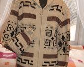 Vtg. Pendleton Cowichan Big Lebowski Sweater UNISEX men medium women large