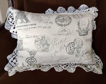 CLEARANCE - Decorative French Pillow
