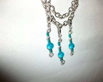 Blue Ice Charms