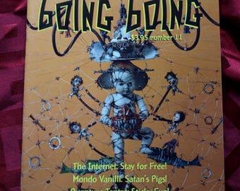 Boing Boing No 11 1993 Fanzine Cyberpunk Neurozine Futurist Rudy Rucker Psych Magazine