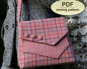 New: Sewing pattern to make the Aylsham Bag - PDF pattern INSTANT DOWNLOAD