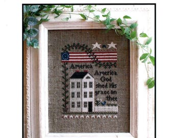 Little House Needleworks: America - Cross Stitch Pattern