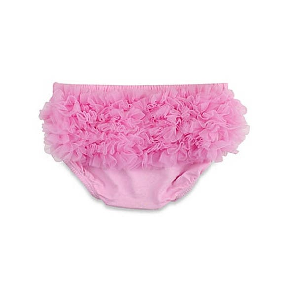 Flash Sale - Ruffle Bum Baby Bloomer Diaper Cover Pink