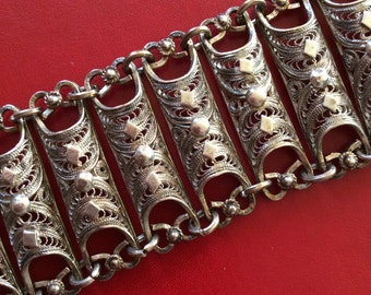 Antique Filigree Bracelet