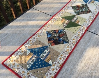 Quilted Table Runner, French Rooster