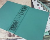 Junk Journal Bundle - With Green Book Cover