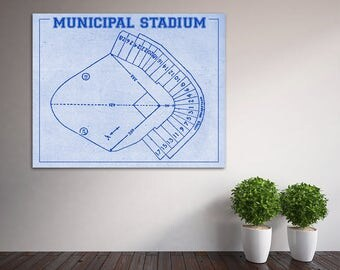 Print of vintage astrodome seating chart seating chart on vintage print of kansas city athletics municipal stadium seating chart baseball blueprint on photo paper malvernweather Choice Image