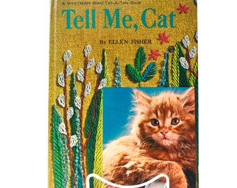 Tell Me Cat by Ellen Fisher Large HC
