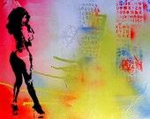 Stencil Art Spray Paint  ...