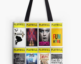Playbill Tote Bag (choose your own up to 8!)