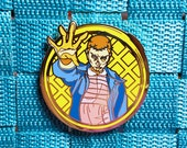 Stranger Things Eleven Eggo Geek Pin / Lapel Pin / Hat Pin by Tom Ryan's Studio