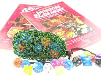 Dungeons And Dragons Green Dice Bag - Warhammer 40K - Large Pouch - SKDB-AL-L-GR