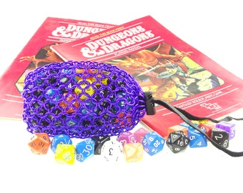 Dungeons And Dragons Purple Dice Bag - Magic The Gathering - Large Pouch - SKDB-AL-L-GR