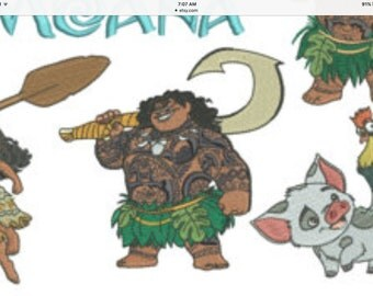 Disney Custom Moana Fish Extender