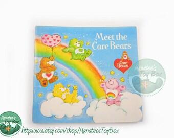Meet the Care Bears Vintage Kids Mini-Book 1980s