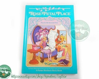 Rose Petal Place Book: Fun is All Around You Vintage 1980s Kids Book Hardcover