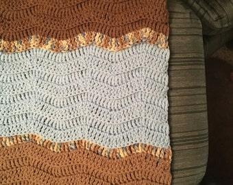 Ripple Lap Blanket