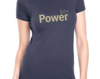Yoga t shirt / Women's t-shirt / Inspirational / Powerful woman/ TShirt / t shirts / Power tee / Life is Balance / yoga tee/ Gifts for Her