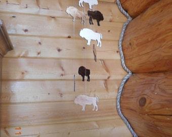 Wooden Buffalo Mobile Rustic