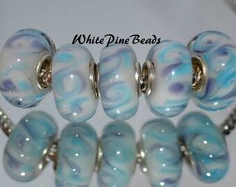 MURANO GLASS Beads fits European Bracelets From WhitePineBeads