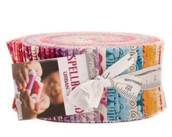Sale Spellbound cotton jelly roll strips by Urban Chicks for Moda fabric