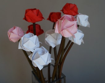 Mothers Day,Mothers Day bouquest, Mother Day Gift,mum gift,Mothers Day present, Spring flowers,Paper Rose bouquet for Mum