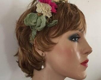 Charming headband for princess or bridesmaid or flower girl