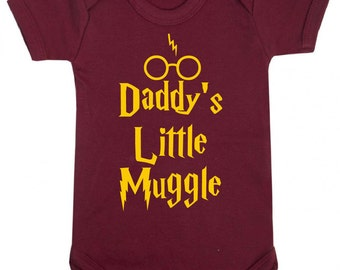 Daddy's Little Muggle Baby Vest