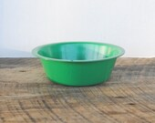 Vintage Amsco Green Childs Dish Pan Bowl