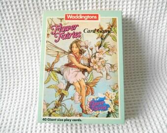 Flower Fairies Set Box Game 1985 Vintage Card Game