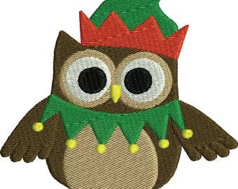 Christmas Owl 4