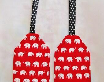 Luggage Tag - Elephants!