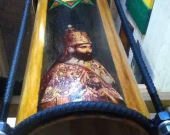 Star of Africa Haile Selassie Rastafari Nyabinghi Drum