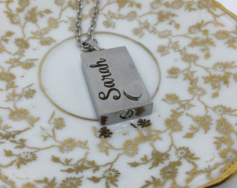 Cremation Necklace, Ashes Holder, Memorial Necklace, Silver Cremation Locket, Cremains Locket, Cremains Necklace, Bereaved Gift